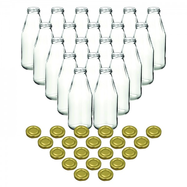 20er Set - 500 ml Saftflasche gold